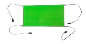 EL Panel 15x40cm glowing shape