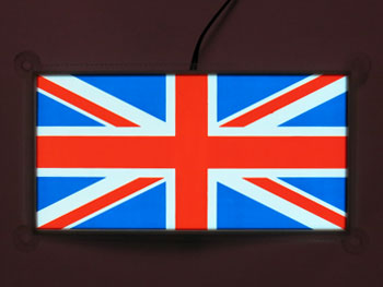 EL Panel Union Jack shape