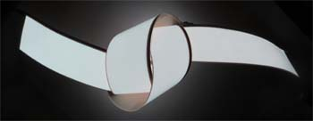 Gif showing the 5cm x 2meter el tape
