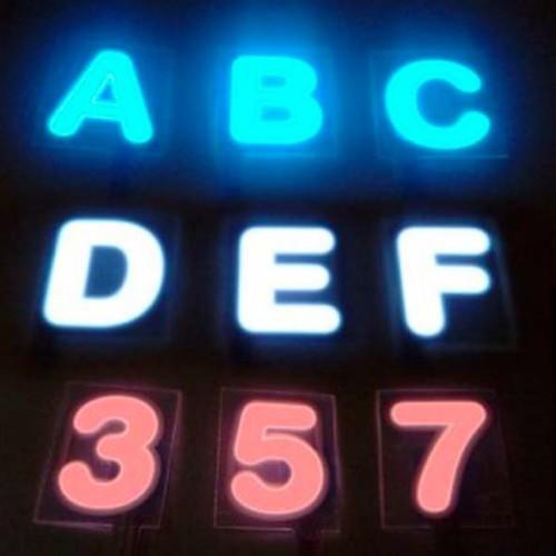 Alphabet EL Letters Paneland Glow Panel & Tape