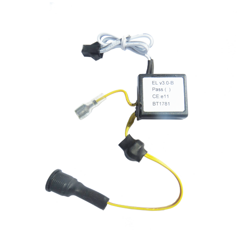 silent el driver for automotive with earth
