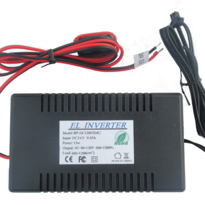 24V dedicated el inverter for 600 to 1200 square centimetres of el panel and tape