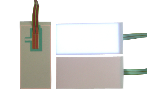 26 x 55mm replacement glowing el backlight
