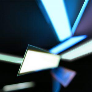 1.5 x 25cm glowing el tape