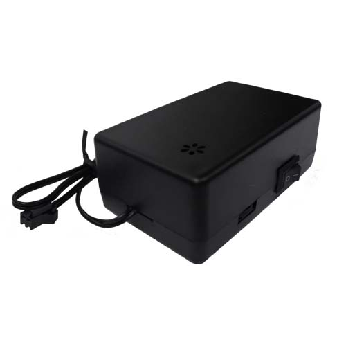 12V sound activated el driver for 50 to 300 square centimetres of el panel or tape