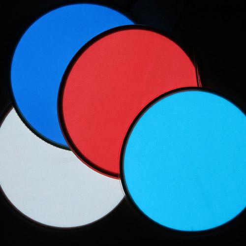 10cm round glowing el panels