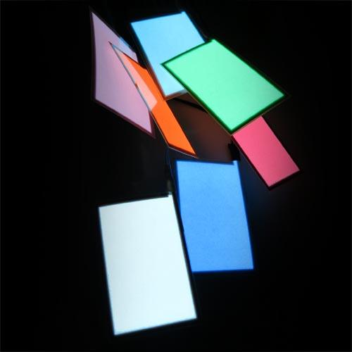 5cm x 8cm glowing electroluminescent panel