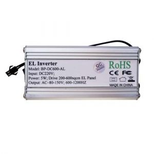 A4 mains powered electroluminescent driver