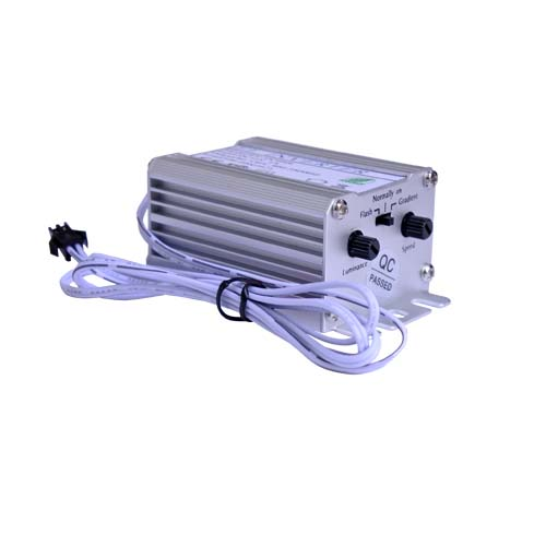 A4 12V powered driver. Can be used with multiple 12V power sources.