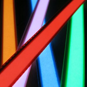 1 x 15cm glowing electroluminescent tape